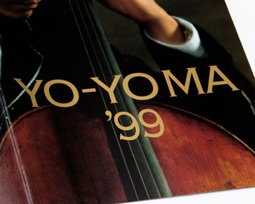 Tour Booklet, YO-YO MA '99