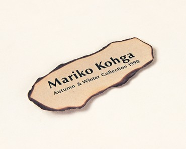 Catalogue, Mariko Kohga Autumn and Winter Collection