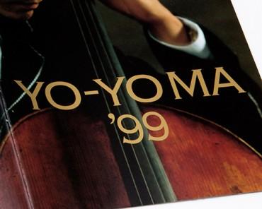 Tour Booklet, YO-YO MA '99