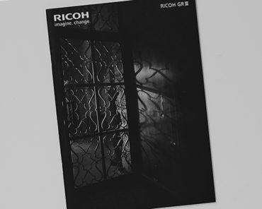Catalog ,RICHO GR Ⅲ -In Paris-